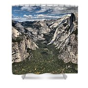 Half Dome Valley Shower Curtain