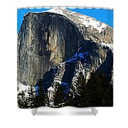 Half Way Half Dome Shower Curtain