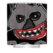 Halloween 3- Boo Shower Curtain