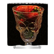 Halloween Desert Shower Curtain