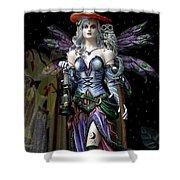 Halloween Fantasy Shower Curtain