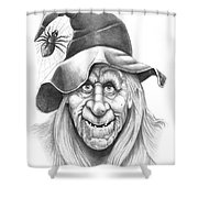 Halloween Weeotch Shower Curtain