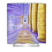 Halls Of Creation Shower Curtain