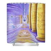Halls Of Creation Shower Curtain