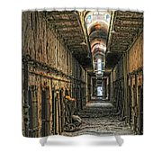 Hallway Eastern State Penitentiary  Shower Curtain