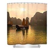 Halong Bay - Vietnam Shower Curtain