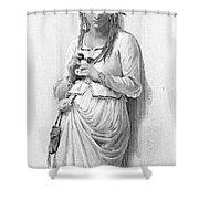 Hamlet: Ophelia Shower Curtain