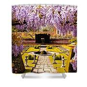 Hampton Court Gardens IIi Shower Curtain