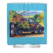 Hanapepe Truck Shower Curtain