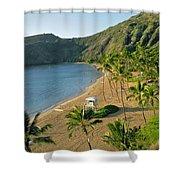 Hanauma Bay Beach Shower Curtain