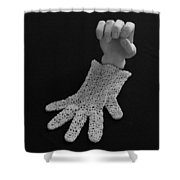 Hand And Glove Shower Curtain