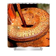 Hand Pump - Water Pump - Well Pump Shower Curtain
