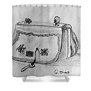Handbag Shower Curtain