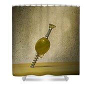 Handyman Martini Shower Curtain