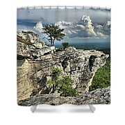 Hanging Below The Sky Shower Curtain