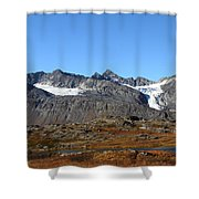 Hanging Glacier Shower Curtain