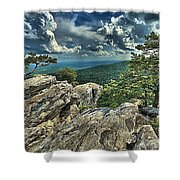 Hanging On To Life Shower Curtain