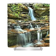Hanging Rock Cascades Shower Curtain
