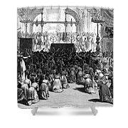 Hannukah Celebration, 1880 Shower Curtain