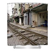 Hanoi Daily Life Shower Curtain