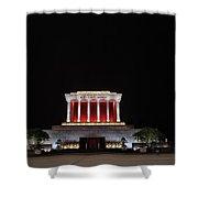 Hanoi Ho Chi Minh Mausoleum Shower Curtain