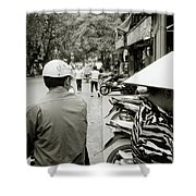 Hanoi In Vietnam Shower Curtain