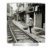 Hanoi Life Shower Curtain