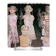 Hanoi Mannequins Shower Curtain