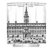 Hanseatic League, 1563 Shower Curtain