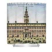 Hanseatic League, Antwerp Shower Curtain by Granger
