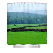 Happy Alone Shower Curtain
