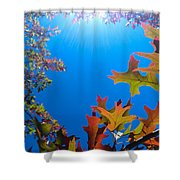 Happy Autumn Shower Curtain