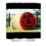 Happy Fall Face Shower Curtain