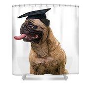 Happy Graduation Shower Curtain
