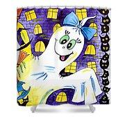 Happy Halloween - 2 Shower Curtain