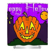 Happy Halloween 2 Shower Curtain