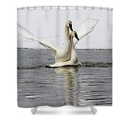 Happy Happy Shower Curtain