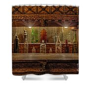 Happy Hour Shower Curtain by Susan Candelario