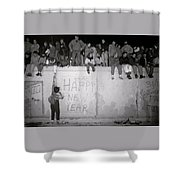 Freedom At The Berlin Wall Shower Curtain