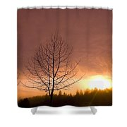 Happy Valley, Oregon, Usa Shower Curtain