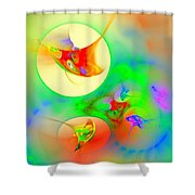Happyness Shower Curtain