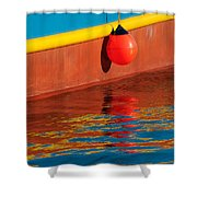 Harbor Colors Shower Curtain