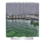 Harbor Dawn Shower Curtain