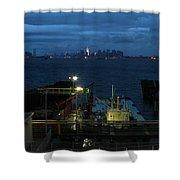 Harbor Morn Shower Curtain