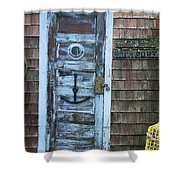 Harbor Sign Shower Curtain