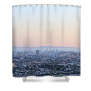 Harbor View II Shower Curtain