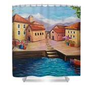 Harbourfront Shower Curtain