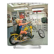 Harley Country Shower Curtain