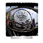 Harley Davidson - Motorcycles Shower Curtain