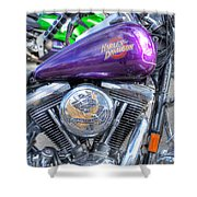 Harley Davidson 3 Shower Curtain